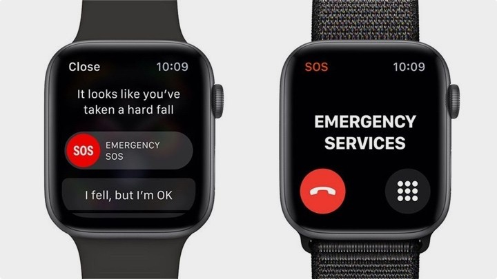 Apple Watch - fall notification