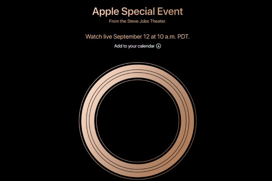 Apple's Special Event invite: Gather Round